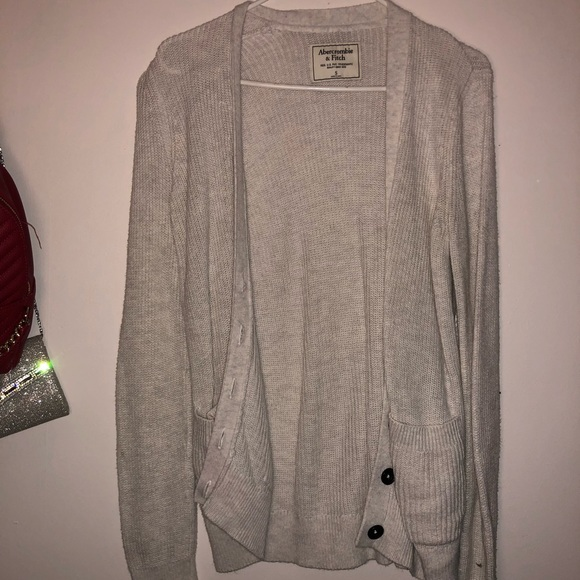 Abercrombie & Fitch Sweaters - Crime colored cardigan